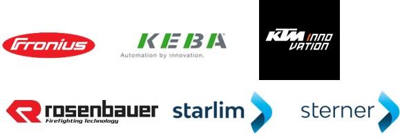 Logos: Teilnehmende Unternehmen