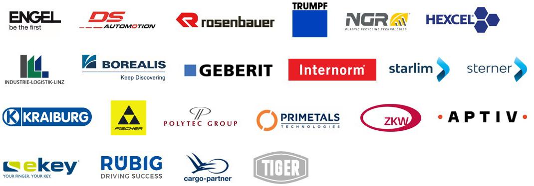 Teilnehmende Unternehmen der Qualitätsmanagement Plattform